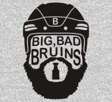 Big Bad Bruins Beard One Piece - Long Sleeve