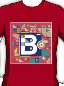 B in style T-Shirt