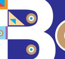 B in style Sticker