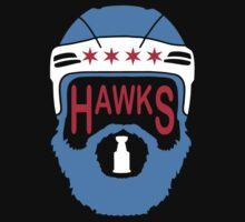 Hawks Flag by Societee