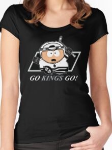Go Kings Go! Women's Fitted Scoop T-Shirt