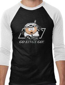 Go Kings Go! Men's Baseball ¾ T-Shirt
