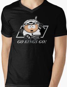 Go Kings Go! Mens V-Neck T-Shirt