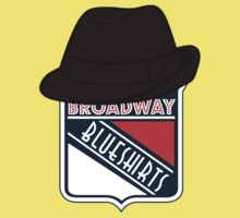 Broadway Blueshirts One Piece - Short Sleeve