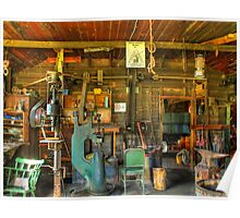 Docs Town Black Smith Shop Poster