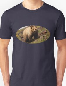 Grizzly & Wildflowers T-Shirt