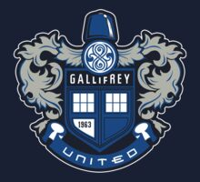The Gallifrey United One Piece - Short Sleeve