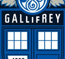 The Gallifrey United Sticker