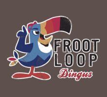 Fruit Loop Dingus One Piece - Short Sleeve