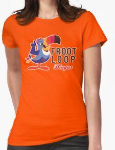 Fruit Loop Dingus Womens Fitted T-Shirt