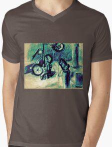 Giro d'Italia Workshop 1.2 Mens V-Neck T-Shirt