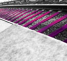 Magenta Tracks by ClckClnkCrochet