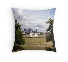 Greenwich Park, London Throw Pillow