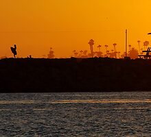 Orange Sunset by Talo Pinto