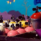 Scuba tanks by Hiroshi  Maeshiro