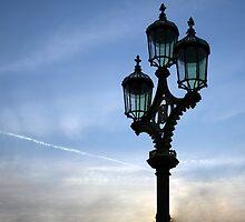 London lamp post by Christian  Zammit