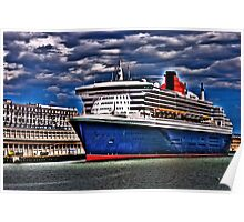 Welcome to Queen Mary 2 Poster