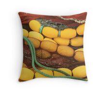 Nets Throw Pillow