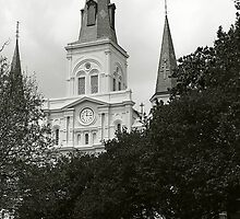 St Louis Cathedral by Roger Miller