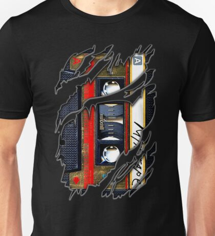 Retro cassette mix tape Unisex T-Shirt