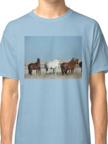 There's a cold wind  blowing #1 Camooweal Northern Territory  Classic T-Shirt
