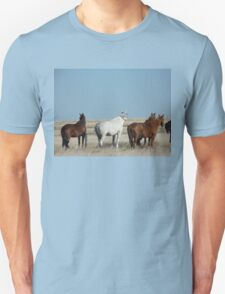 There's a cold wind  blowing #1 Camooweal Northern Territory  Unisex T-Shirt