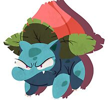 ivysaur. by scribblekisses