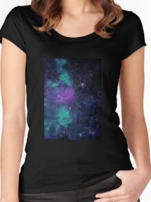 Rapsody of the stars D Minor  Women's Fitted Scoop T-Shirt