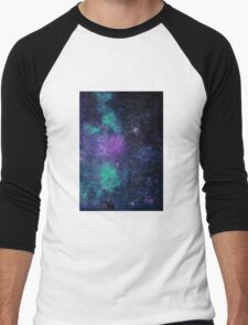 Rapsody of the stars D Minor  Men's Baseball ¾ T-Shirt