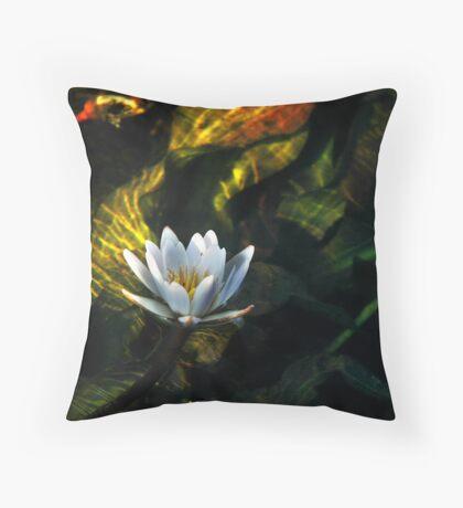 Okavango Lily Throw Pillow
