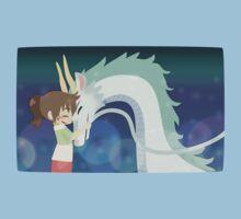 Spirited Away - Chihiro and Haku One Piece - Short Sleeve
