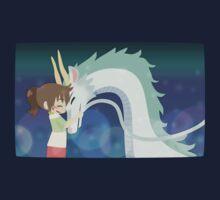 Spirited Away - Chihiro and Haku Kids Tee