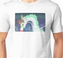 Spirited Away - Chihiro and Haku Unisex T-Shirt