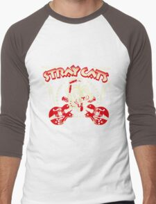 Stray Cats Men's Baseball ¾ T-Shirt