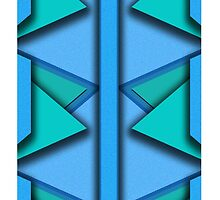 Abstract Iphone Case  by ChanceThatBino