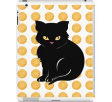 Little Black Cat iPad Case/Skin