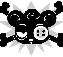 PetRPG - Scarebear Cross Bones by onelastthing