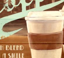 Castle's Coffee Sticker