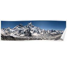 Everest Himalayan Range Poster