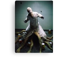 Dr. Monster Canvas Print
