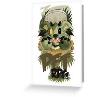 PetRPG - Zombie Jak Greeting Card
