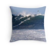 Wedge Wall Throw Pillow