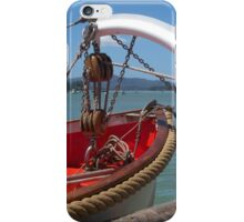 Lifeboat, swung out and ready to go...........! iPhone Case/Skin