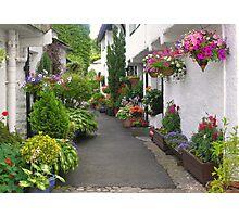 Flag Street, Hawkshead, Cumbria, English Lake District Photographic Print