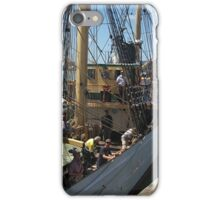 ' Picton Castle ' -  arriving at Opua.......! iPhone Case/Skin