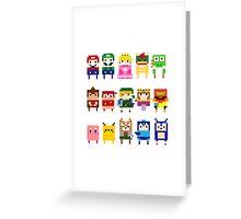 NINTENDO CHARACTERS Greeting Card