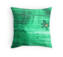 dark woods spirit Throw Pillow