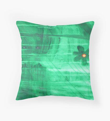 dark woods spirit Throw Pillow