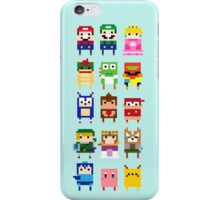 NINTENDO CHARACTERS iPhone Case/Skin