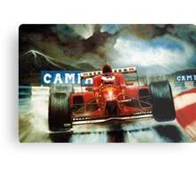 Michael Schumacher in Austria Metal Print